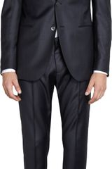 Fendi Steel Melange Two Piece Suit - Lyst