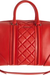 Givenchy Quilted Medium Lucrezia Duffel - Lyst