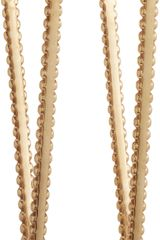 Jennifer Fisher Brass Rivet Angle Hoop Earrings - Lyst