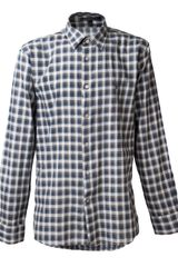 John Varvatos Plaid Button Down Shirt - Lyst