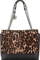 Lanvin Calf Hair Happy Medium Shoulder Bag - Lyst