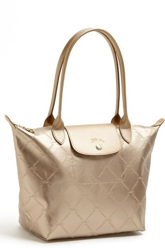 Longchamp Lm Métal Medium Shoulder Tote - Lyst