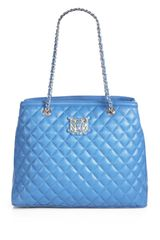 Love Moschino Borsa Manici Quilted Tote Bag - Lyst