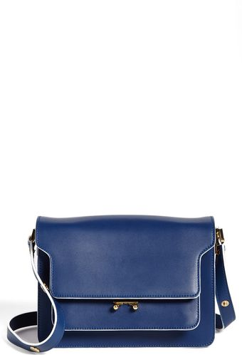 Marni Leather Shoulder Bag - Lyst