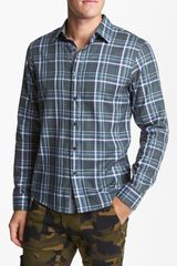 Michael Kors Harel Check Sport Shirt - Lyst