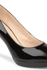 Nine West Beautie Patent Leather Courts - Lyst