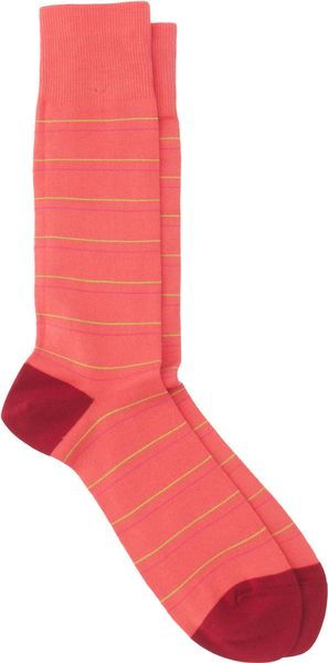 Paul Smith Thin Striped Socks - Lyst