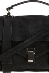 Proenza Schouler Ps1 Medium Suede - Lyst