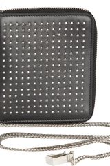 Saint Laurent Clous Motorcycle Wallet - Lyst