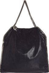 Stella McCartney Falabella Shaggy Deer Big Tote with Pouch - Lyst