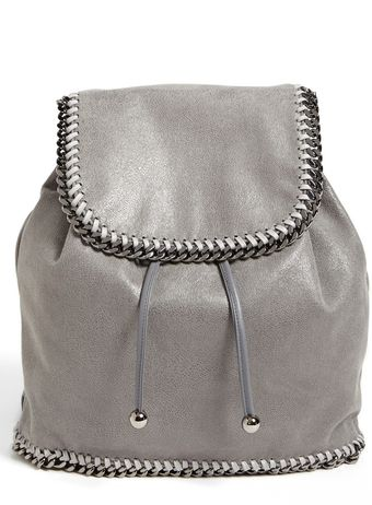 Stella McCartney Falabella Shaggy Deer Backpack - Lyst