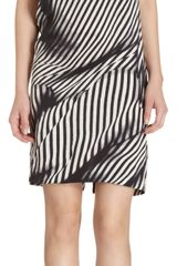Stella McCartney Printed Short Sleeve Dress - Lyst