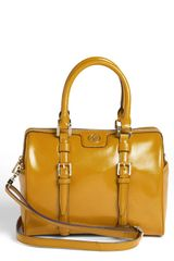 Tory Burch Leather Satchel - Lyst