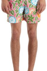 Vilebrequin Citrus Moorea Swim Trunks - Lyst