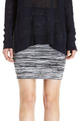 Alexander Wang Open Knit Long Sleeve Sweater - Lyst