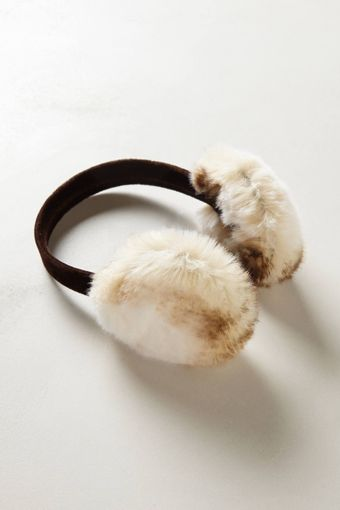 Anthropologie Plush Earmuffs - Lyst