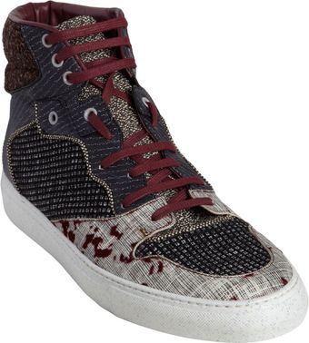 Balenciaga Multimatieres High Top - Lyst
