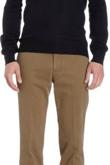 Barneys New York Long Sleeve Knit Polo - Lyst