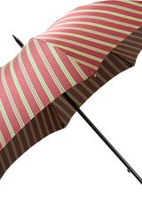 Barneys New York Bordered Stripe Stick Umbrella - Lyst