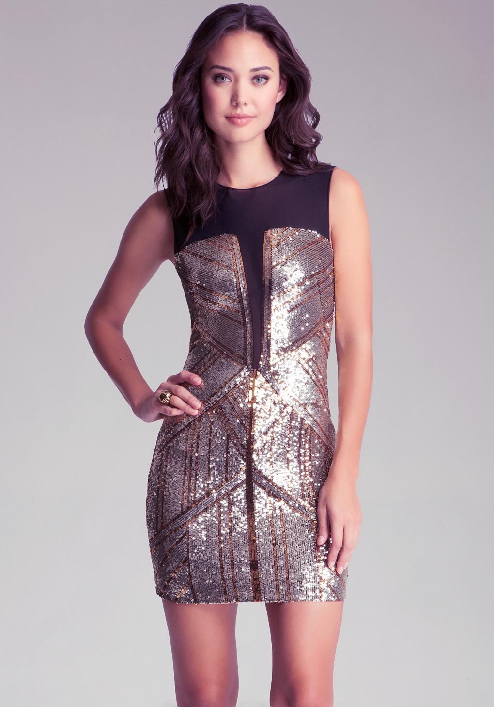 bebe gold sequin dress fashion dresses. Black Bedroom Furniture Sets. Home Design Ideas
