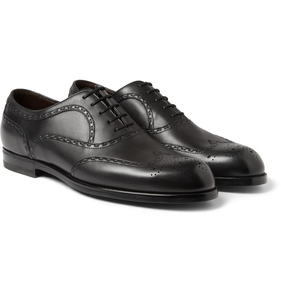 cheap sale nicekicks Bottega Veneta Wingtip Leather Oxfords outlet best store to get cheap sale new store for sale 3n7sT