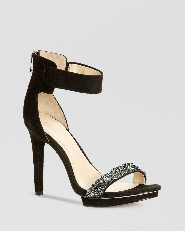 calvin klein shoes platforms sandals valentino