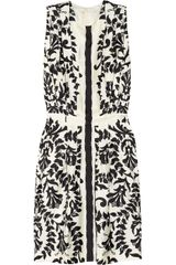 Chloé Floral Print Silk Dress - Lyst