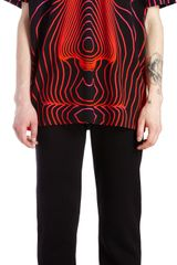 Christopher Kane Digital Faceprint Tee - Lyst