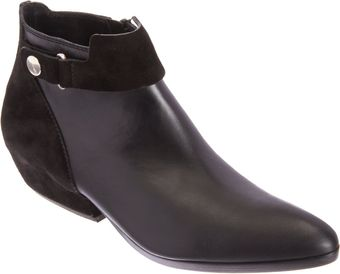 Costume National Combo Pointedtoe Ankle Boot - Lyst