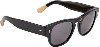 Cutler & Gross Rounded Frame Sunglasses - Lyst