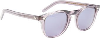 Cutler & Gross Translucent Square Frame Sunglasses - Lyst