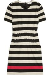 Diane Von Furstenberg Yazmine Striped Stretchjersey Dress - Lyst