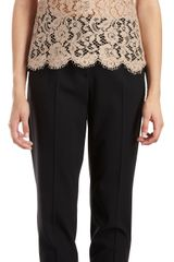 Dolce & Gabbana Floral Lace Sleeveless Top - Lyst