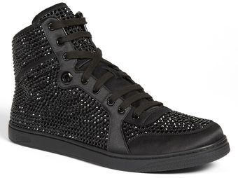 Gucci Coda Crystal High Top Sneaker - Lyst