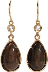 Irene Neuwirth Diamond Golden Sapphire Drop Earrings - Lyst