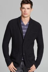 John Varvatos Usa Shawl Collar Cardigan - Lyst