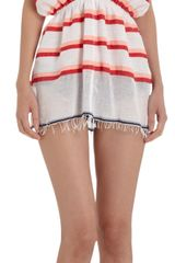 Lemlem Striped Vneck Tunic - Lyst