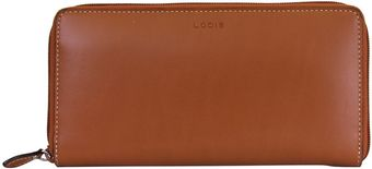 Lodis Audrey Iris Leather Zip Wallet - Lyst