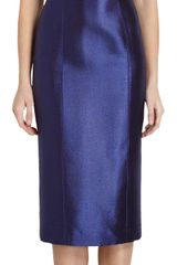 L'Wren Scott Pebbled Jacquard Dress - Lyst
