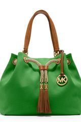 Michael by Michael Kors Large Marina Gathered Tote - Lyst