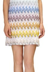 Missoni Contrast Trim Dress - Lyst