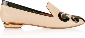Nicholas Kirkwood Appliquãd Leather Loafers - Lyst
