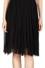 Nina Ricci Silk Mousseline Dress - Lyst