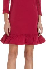 Nina Ricci Aline Flounce Dress - Lyst