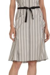 Nina Ricci Striped Sleeveless Sundress - Lyst
