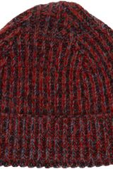 Paul Smith Mélange Beanie - Lyst