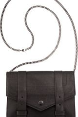 Proenza Schouler Ps1 Large Chain Wallet Leather - Lyst