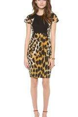 Rachel Roy Leopard Dress - Lyst