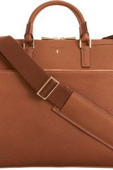 Serapian Slim Briefcase - Lyst