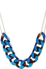 Vanities Thick Thin Curb Chain Necklace - Lyst